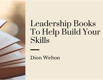 Leadership Books To Help Build Your Skills