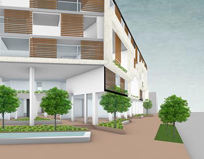 Ejercicio 3 - Proyecto Habitar: Vivienda multifamiliar