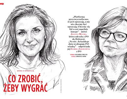 Newsweek Polska - pressillustration