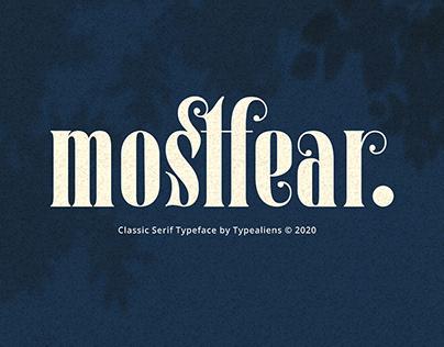 Mostfear Classic Serif Typeface