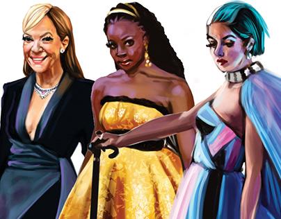 Looks - Oscar 2019