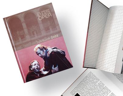 """Wiener Staatsoper"" Jahrbuch"