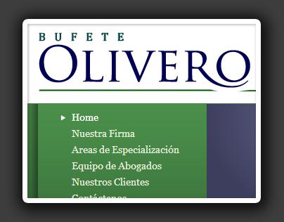 Bufete Olivero Website
