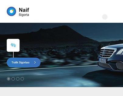 Naif Sigorta | Insurance Company Website / Istanbul, TR