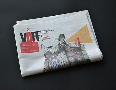 Newspaper design for VDFF I