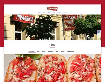Szablon PSD strony http://warkawrzesnia.pl