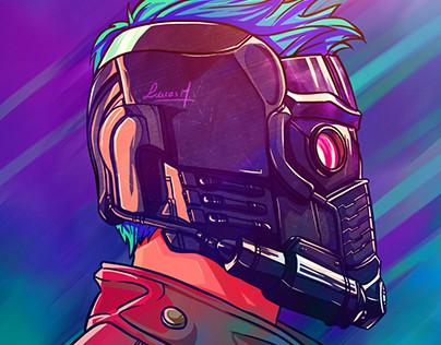 Ilustração - Starlord