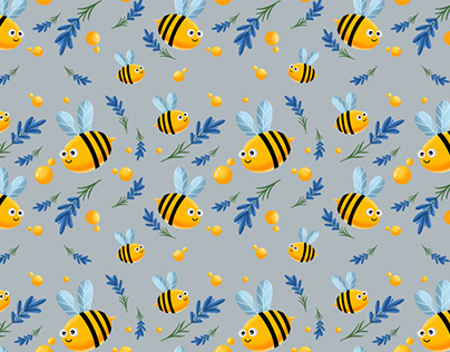 Bee patterns for children