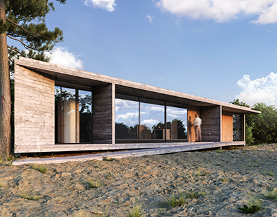 Equestrian House designed by Luciano Kruk.
