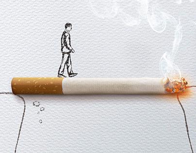 """Anúncio """"Dia Nacional do Combate ao Fumo""""- Unimed"""