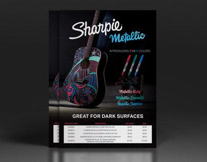 Sharpie Metallic Flyer