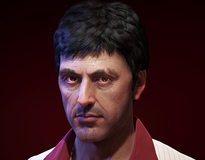 Al Pacino as Tony Montana from Scarface