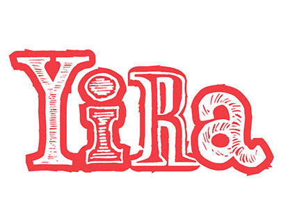 Yira, logotipo ficticio destinado a la música tanguera.