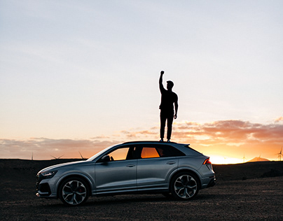 Audi RSQ8 - Forces of nature in Tenerife