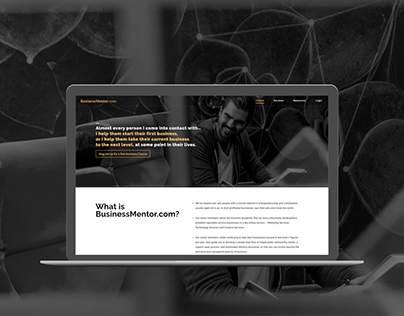 Landing Page BusinessMentor