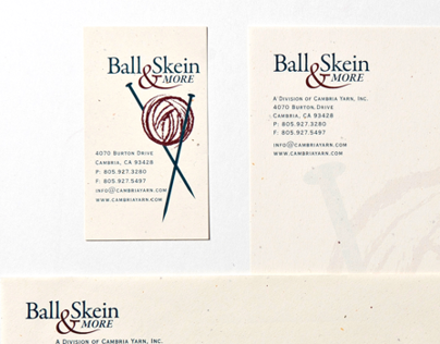 STATIONARY  |  Ball & Skein & More