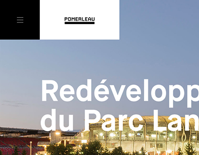 Pomerleau — Website Redesign