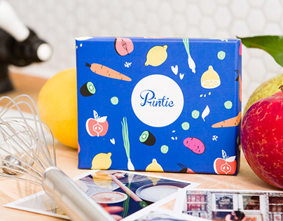 PACKAGING - BOX PRINTIC - spring collection