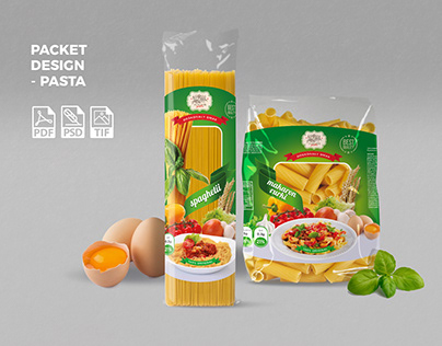 Packet Design - Pasta
