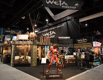 Weta Workshop SDCC // Editorial Print