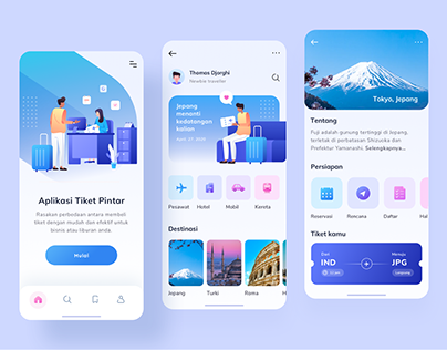 Ticket App Design Exploration