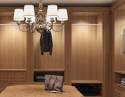 Private house / Waredrobe