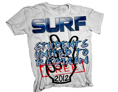 S.U.R.F. T-shirt design