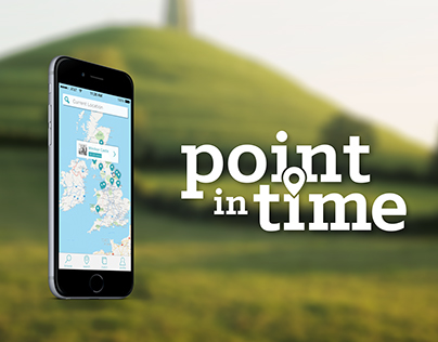 Point In Time - UX/UI Mobile Application