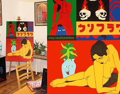 Karifurava Paintings 2019 2020