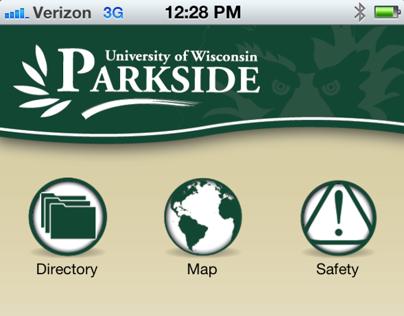 UW-Parkside Mobile App Identity