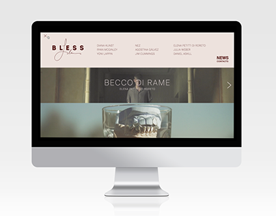 BLESS - VISUAL IDENTITY