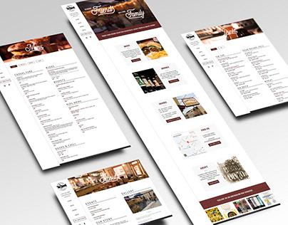 Grand Central Tap Room - Website Redesign
