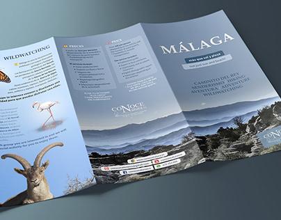 Leaflet Conoce Natura