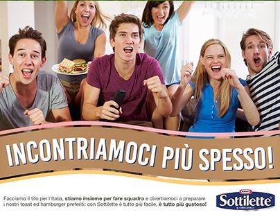 Kraft - Sottilette | Europeans activation charts