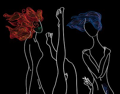 Neon Ladies.