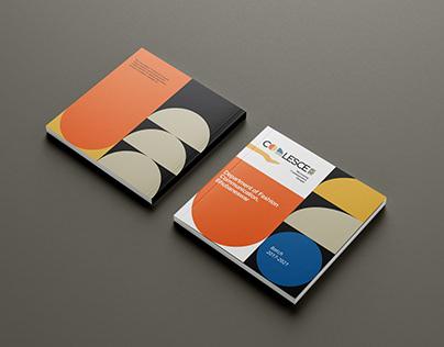 Graduation show book design