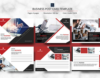 Businesss Postcard