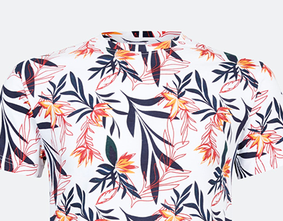 Tropic print for Dressmann SS20