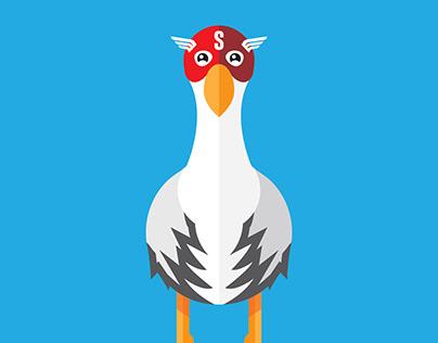 Stork Vector Illustrations