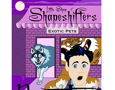 Little Shop of Shapeshifters book cover