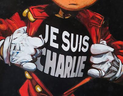 Je Suis Charlie - Published at Spirou Magazine