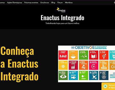Site Enactus Integrado