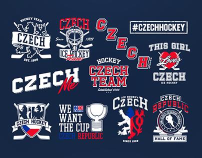 CZECH HOCKEY - T-shirt Graphics