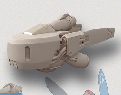 Snowball - Unused Overwatch Concept