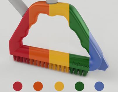 Triangle Cleaning Brush / Cepillo Triangulo
