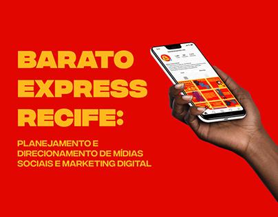 Barato Express Recife - Planejamento de mídias sociais