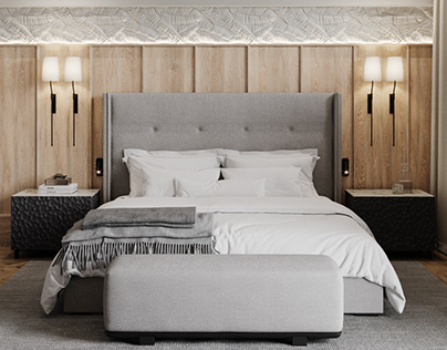 Full CGi / Master Bedroom