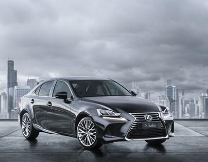 New Lexus IS | CGI & Retouching