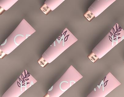 COCONUT + ROSE | 3D render product