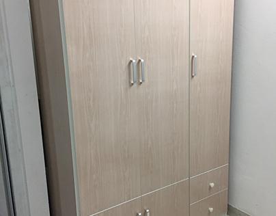 Tủ nhựa quần áo 3 cánh TNL3.5